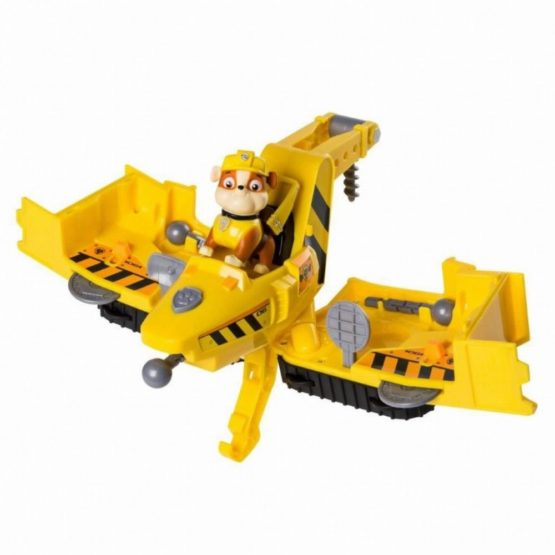 Set De Joaca Spin Master Paw Patrol Vehicul Flip And Fly Rubble