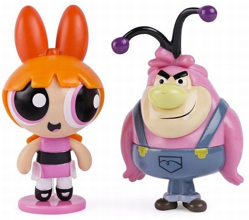 Powerpuff Girls Set 2 Figurine Blossom Si Lumpkins
