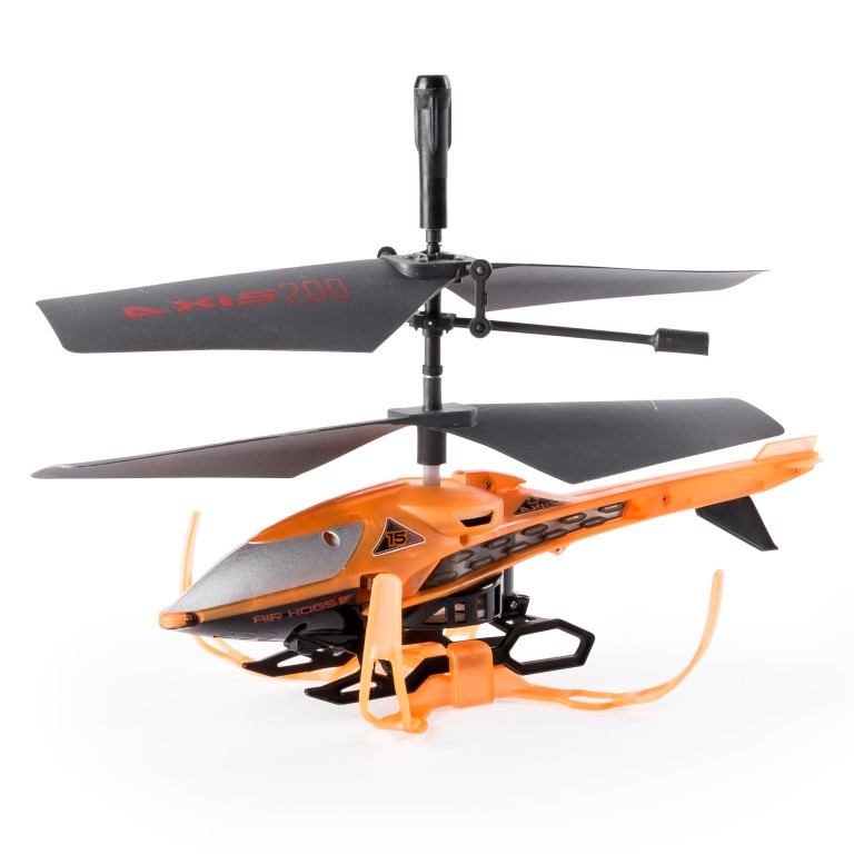 Airhogs Elicopter Rc Axis 200 Portocaliu