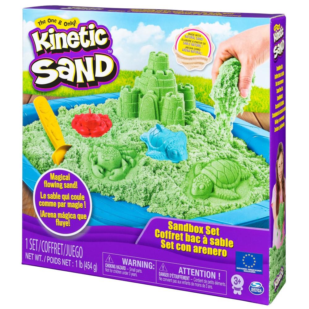 Nisip Kinetic Set Complet Verde 454 Grame