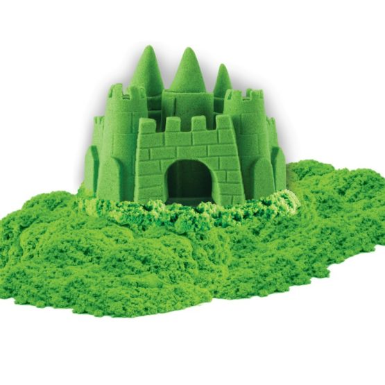 Nisip Kinetic Deluxe Culori Neon 680grame Verde