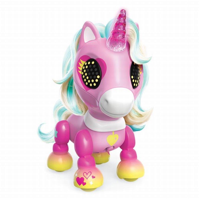 Unicorn Interactiv Zoomer Zupps Charm