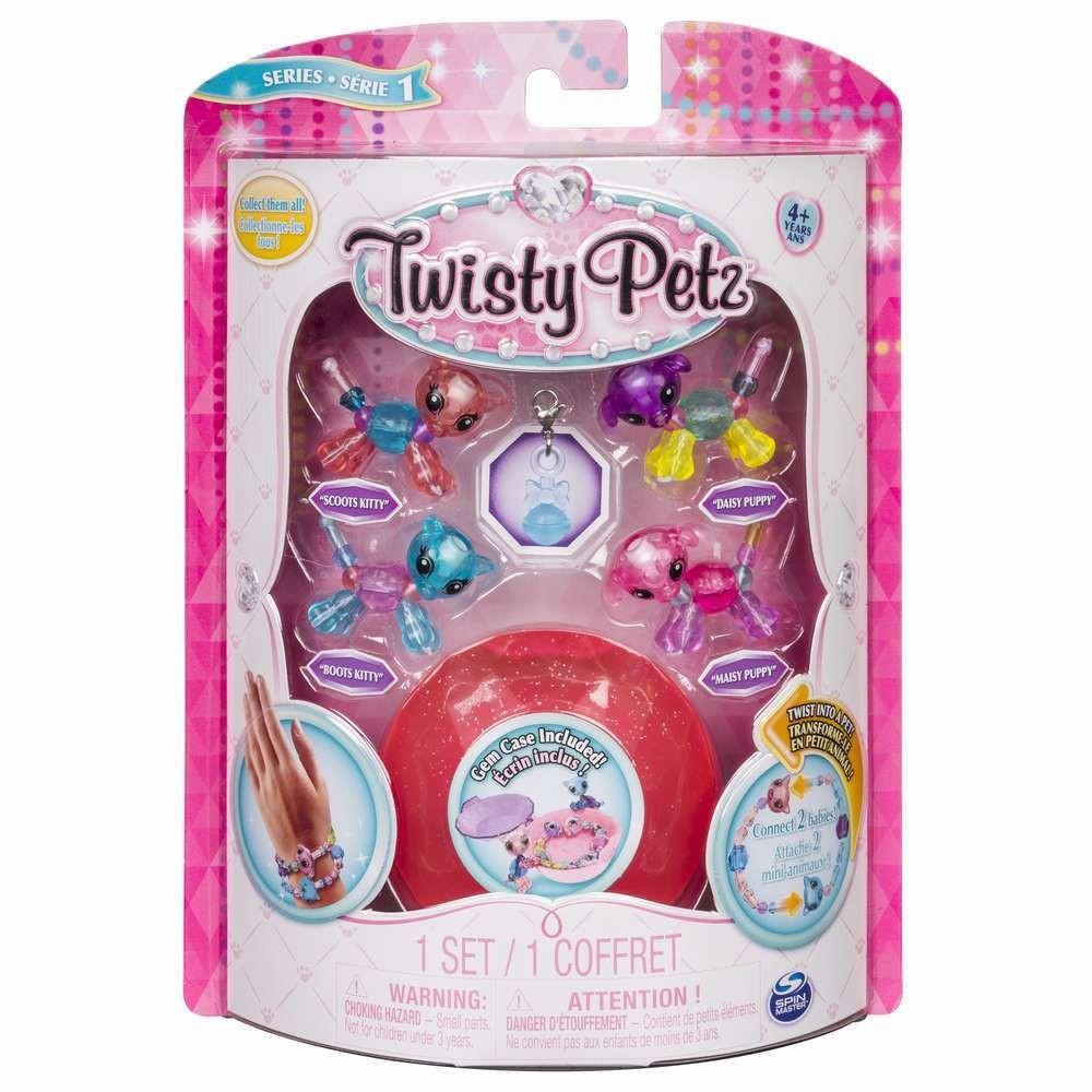 Twisty Petz Set 4 Bratari Baby Animalute Tip1
