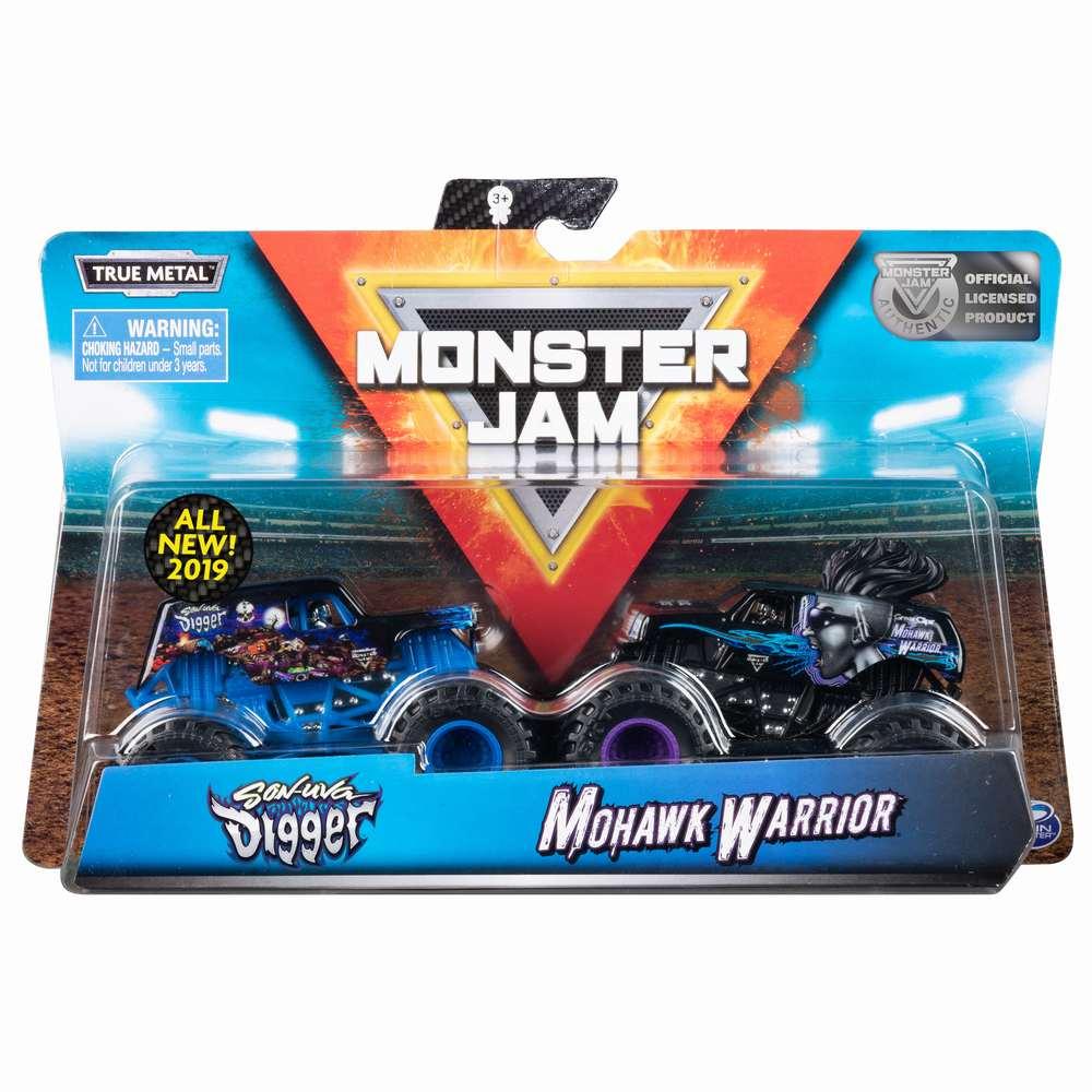 Monster Jam Set 2 Machete Sonuva Digger Si Monhawk Warrier