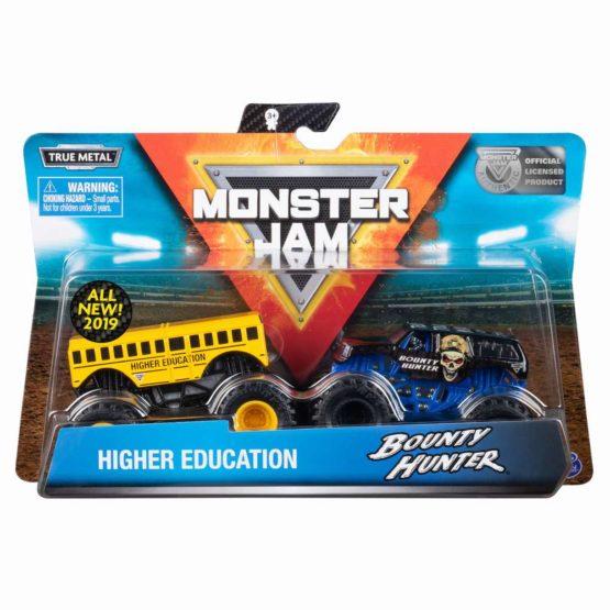 Monster Jam Set 2 Machete Higher Edducation Si Bounty Hunter
