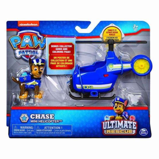 Patrula Catelusilor Vehicule Cu Figurine Ultimate Rescue Chase