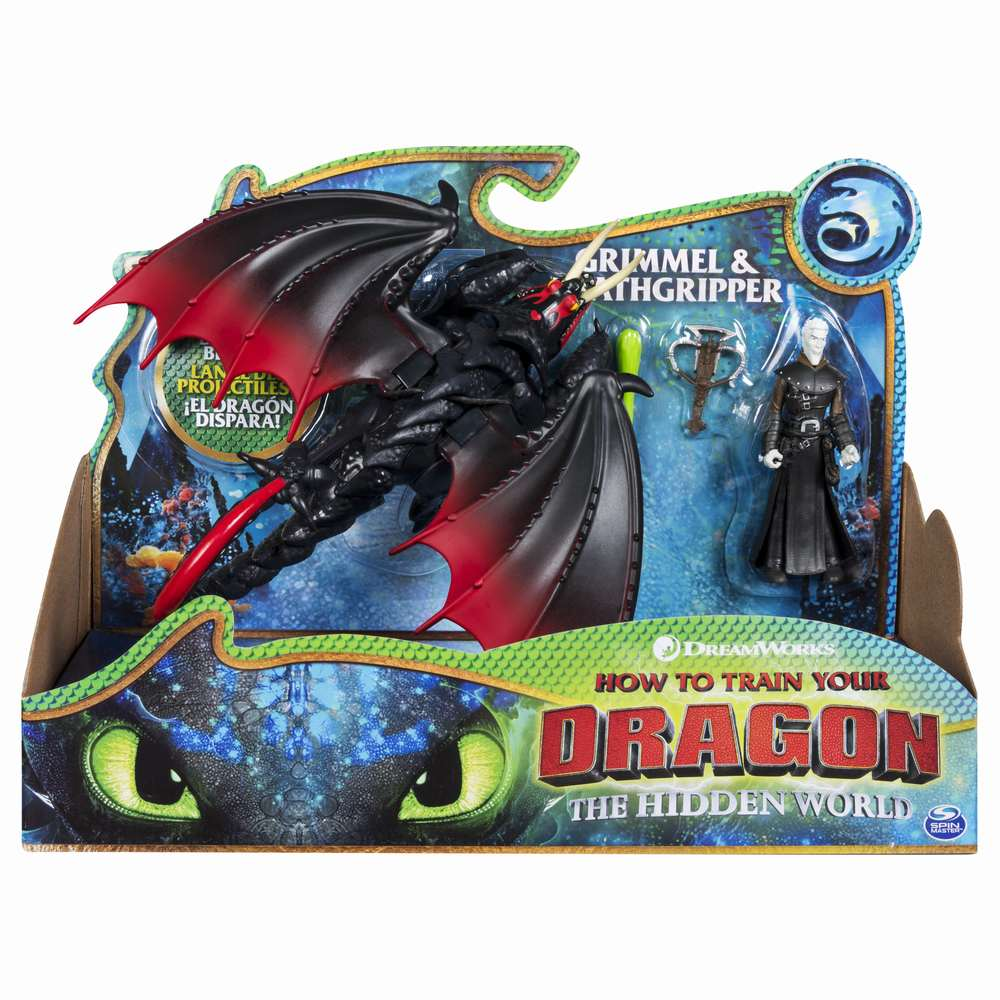 Dragons 3 Grimmel Si Viking Deathgripper