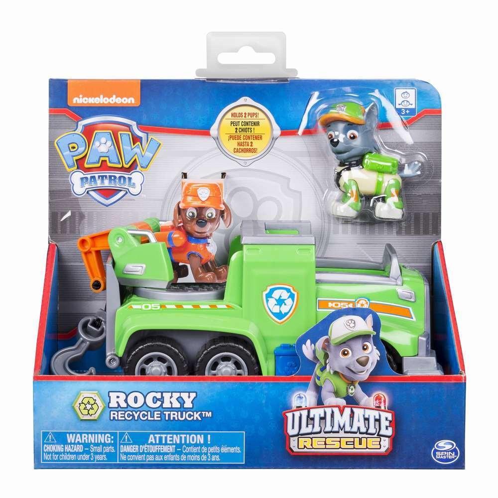 Patrula Catelusilor Vehicule Tematice Ultimate Rescue Rocky