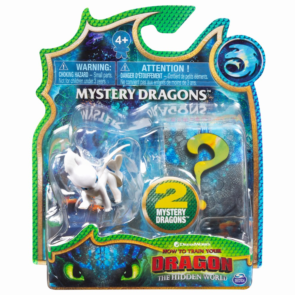Set 2 Dragoni In Pachet Furia Alba Si Baby Dragon