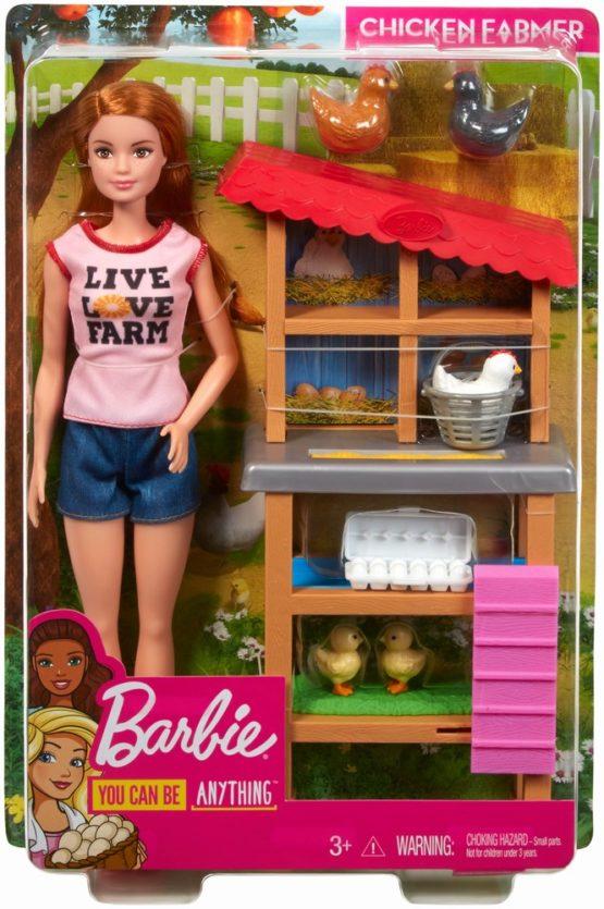 Barbie Cariere Set Mobilier Cu Papusa La Ferma