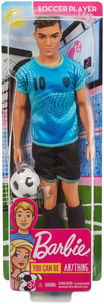 Papusa Baiat Ken Cariere Jucator De Fotbal