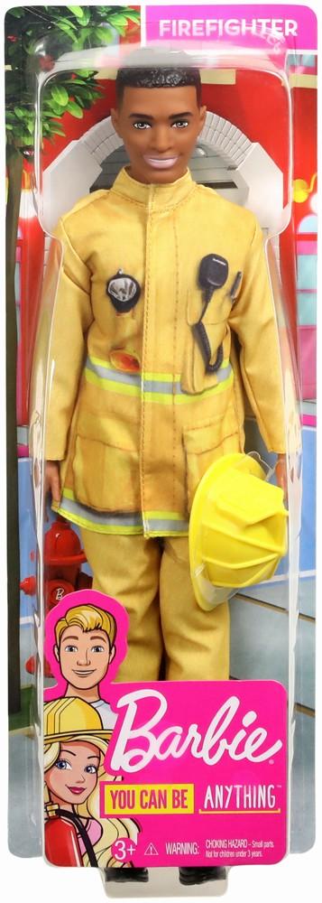 Papusa Baiat Ken Cariere Pompier
