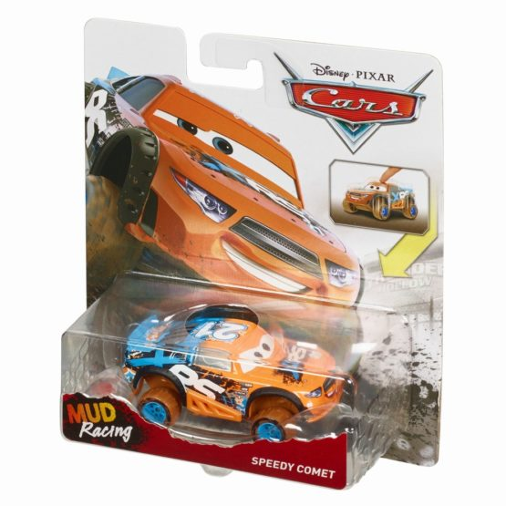 Cars Xrs Mud Personaje Principale Speedy Comet