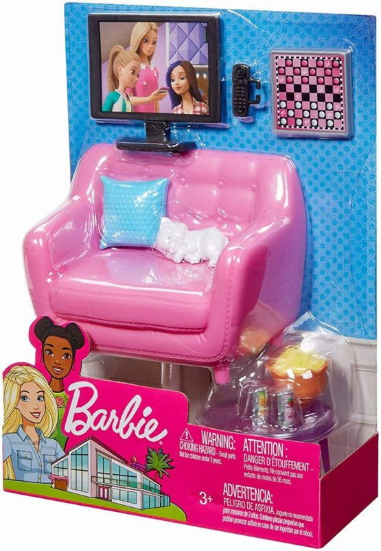 Set Mobilier Barbie Living