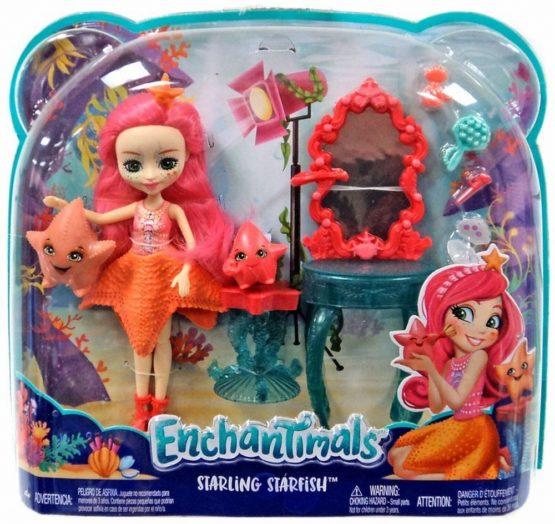 Enchantimals Set De Joaca Cu Apa Starling Starfish