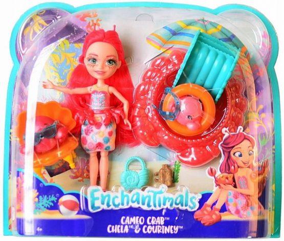 Enchantimals Set De Joaca Cu Apa Cameo Crab