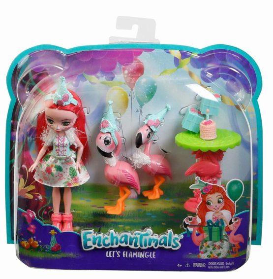 Enchantimals Set Tematic Flamingo Party