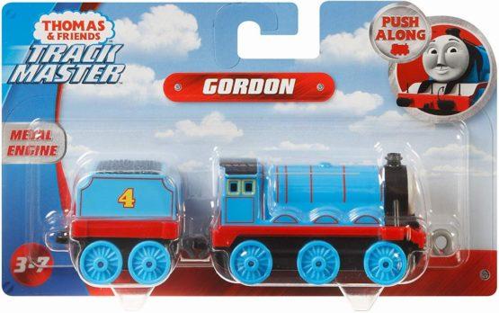 Thomas Locomotiva Cu Vagon Push Along Gordon
