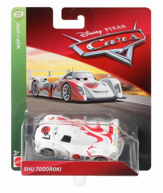 Cars 3 Personaj Die Cast Shu Todoroki