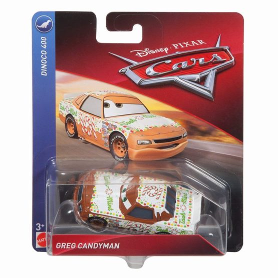Cars 3 Personaj Die Cast Greg Candy Man