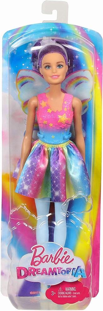 Papusa Barbie Printesa Zana Cu Parul Mov