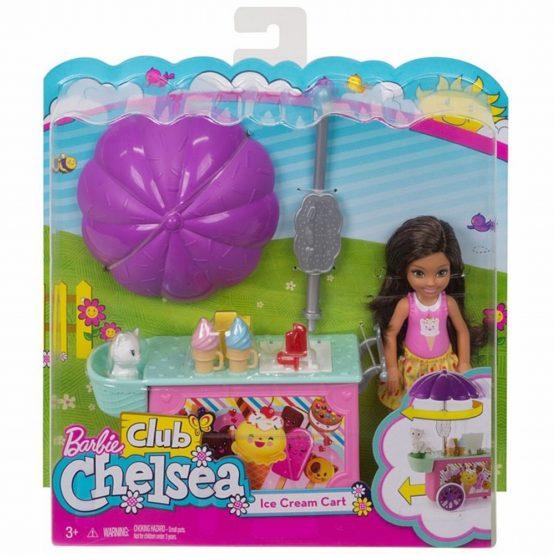 Barbie Papusica Chelsea Set Masina De Inghetata
