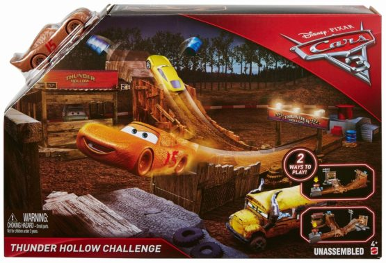 Cars 3 Set De Joaca Thunder Challenge