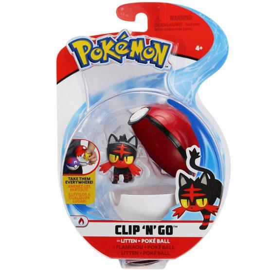Pokemon Figurina Litten In Bila Poke