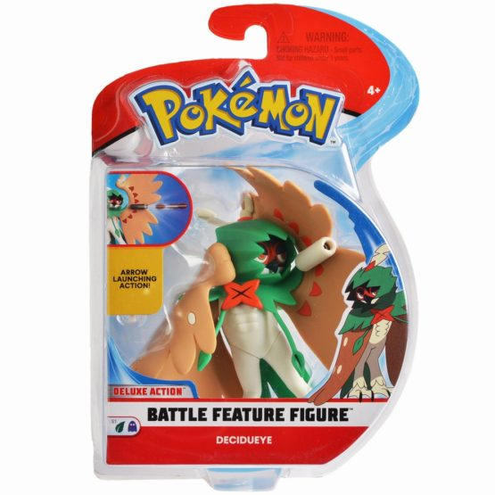 Pokemon Figurina Decidueye Lanseaza Arcul