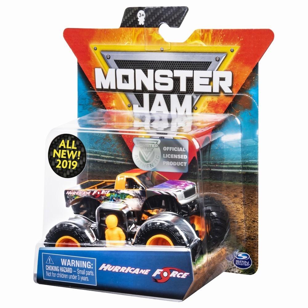 Monster Jam Metalica Hurricane Force Scara 1 La 64