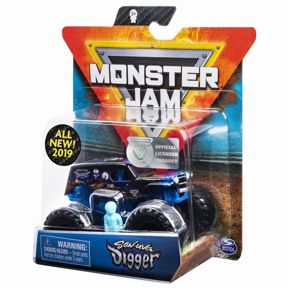 Monster Jam Metalica Son Uva Digger 1 La 64