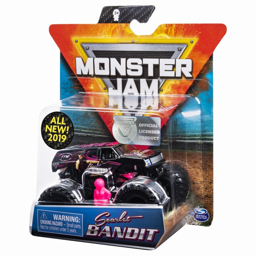 Monster Jam Metalica Scarlet Bandit Scara 1 La 64