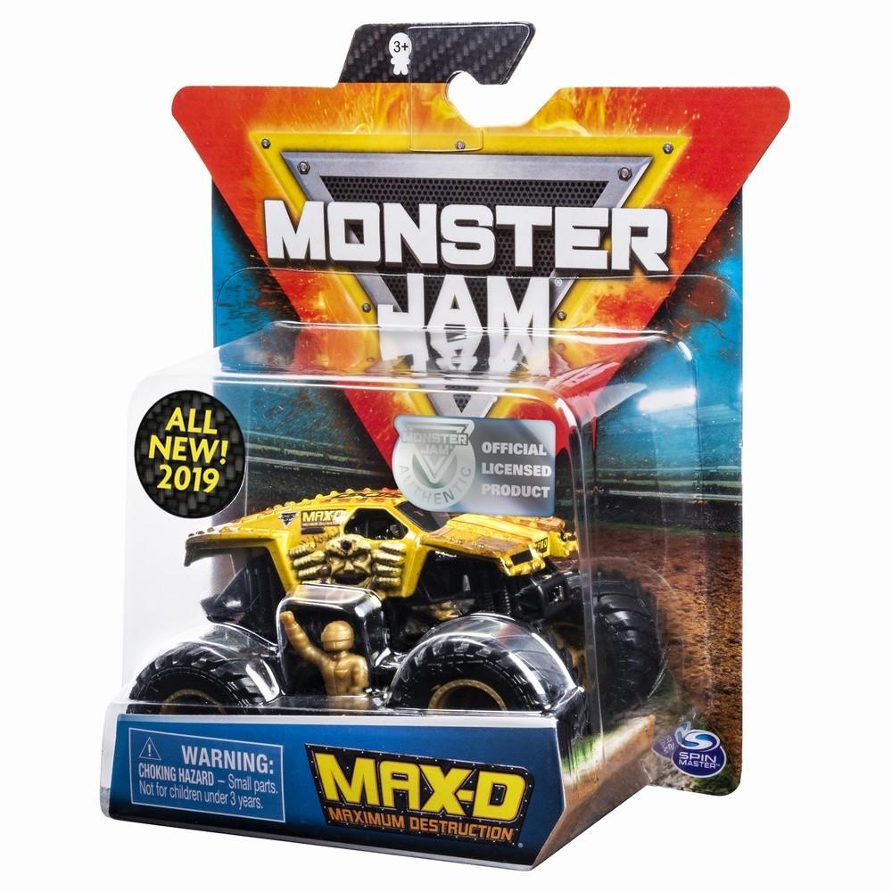 Monster Jam Metalica Max D Scara 1 La 64