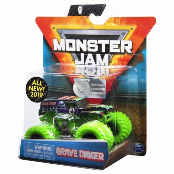 Monster Jam Metalica Grave Digger Scara 1 La 64