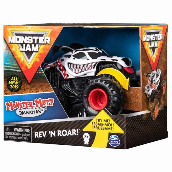 Monster Jam Macheta Dalmatianul Seria Roar Scara 1 La 43