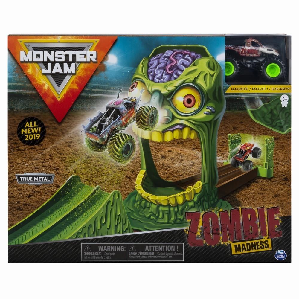 Monster Jam Set Cascadorii Doboara Zombie