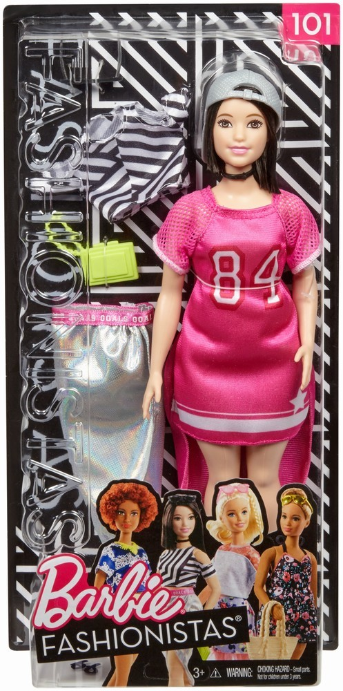 Papusa Barbie Fashionista Cu Hainute Sport Look