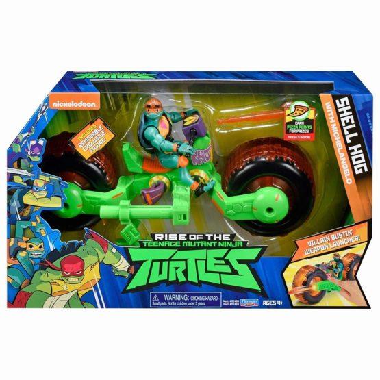 Testoasele Ninja Vehicul Cu Figurina Michelangelo