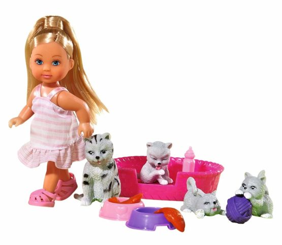 Set Evi Cu Patru Pisicute