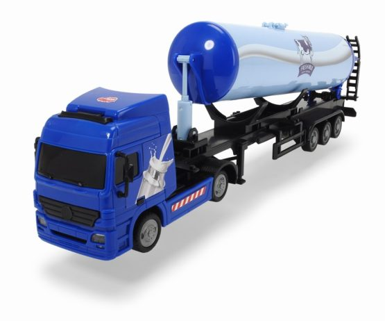 Dickie Camion Cisterna Cu Remorca 42 Cm