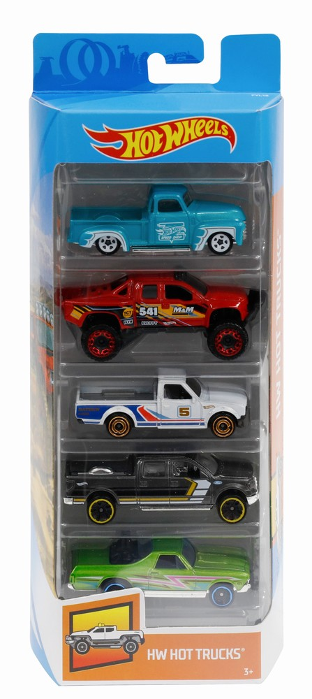 Set 5 Masini Hot Wheels Hot Trucks