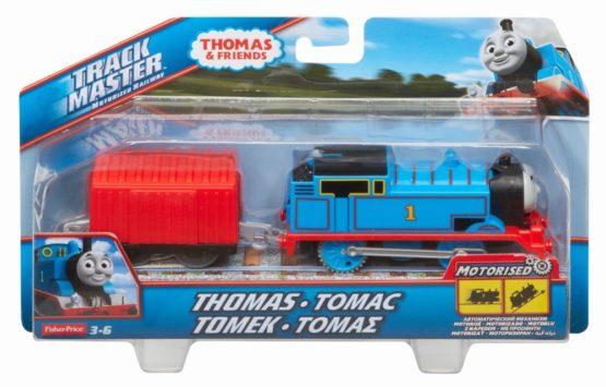 Thomas Trackmaster Locomotiva Thomas Cu Vagon