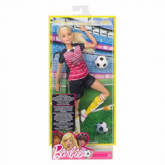 Barbie Papusa Jucatoare De Fotbal