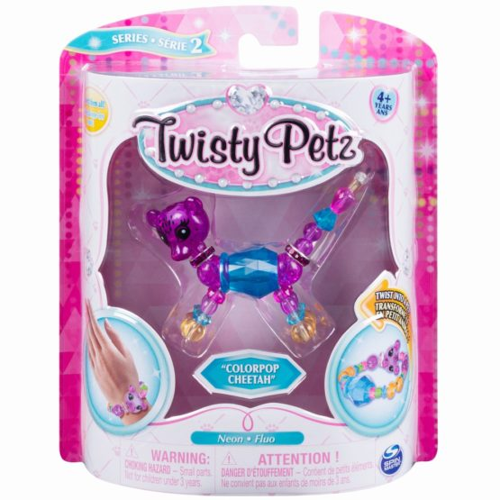 Twisty Petz Bratara Animalut Colorpop Cheetah