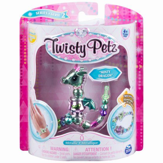 Twisty Petz Bratara Animalut Minty Dragon