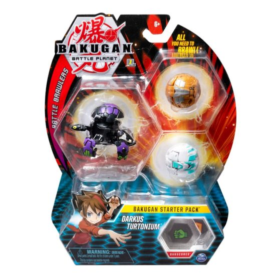 Bakugan Pachet Start Darkus Turtonium