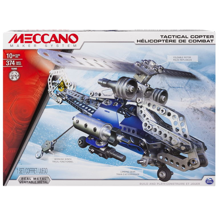 Meccano Elicopter