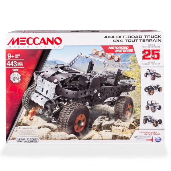 Meccano 4×4 Cu 25 De Modele