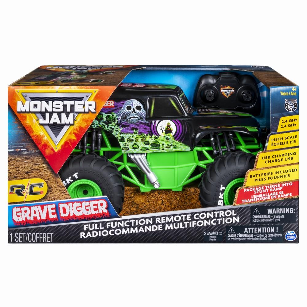 Monster Jam Rc Grave Digger Scara 1 La 15