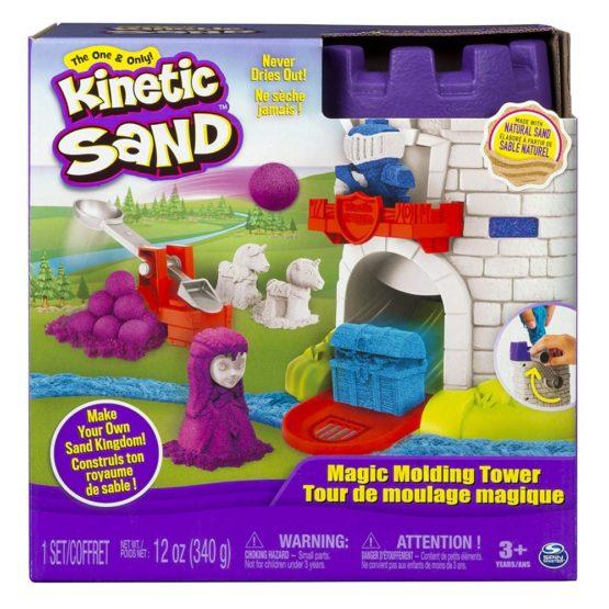 Kinetic Sand Castelul Cu Nisip Si Forme